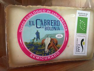 Cuña de queso semi curado