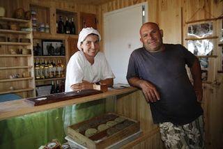 Tienda de la Queseria de Bolonia