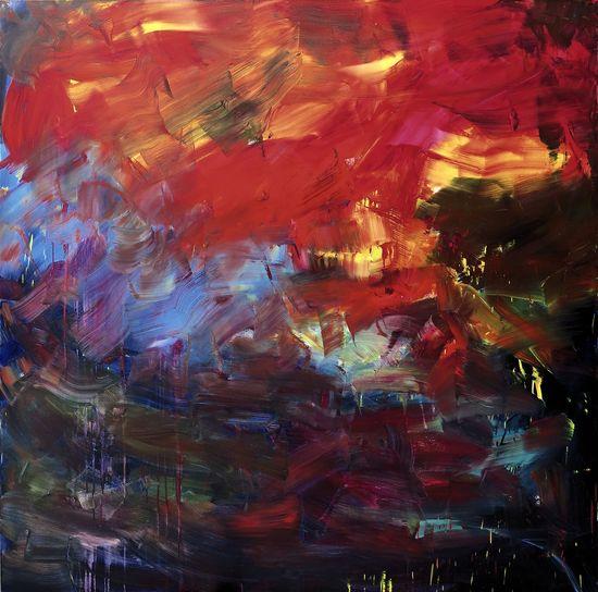 5. Galeria Filomena Soares. Herbert Brandl. Untitled, 2015.