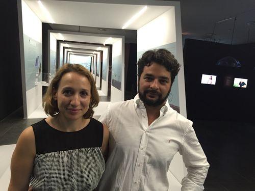 Beatriz García Morales y su marido Enrique Chapa
