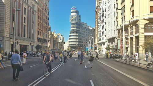 Madrid sin coches.