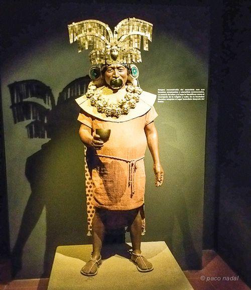 Museo tumbas Reales, Viejo Señor de  Sipán-Paco Nadal