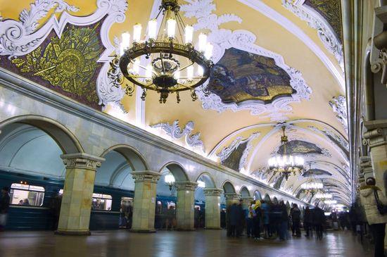 Komsomolskaya, Moscú Graham Lawrence