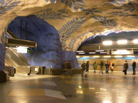 Las estaciones de metro más sorprendentes  >> El Viajero Astuto >> Blogs EL PAÍS