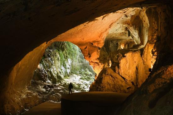 Cueva de las brujas de Zugarramurdi, en el valle navarro de Baztán.  GONZALO AZUMENDI