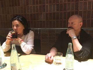 Julia Pérez y Philippe Regol