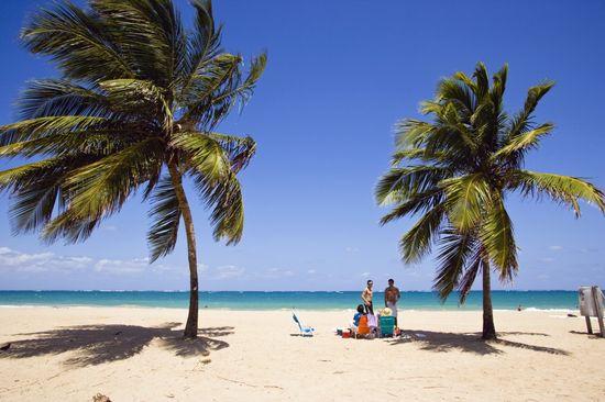 Playa de Isla verde Puerto Rico Massimo Borchi