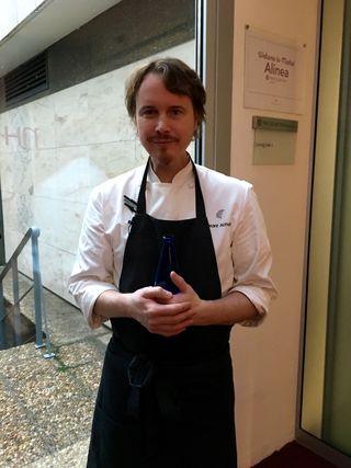 GRANT ACHATZ A LAS PUERTAS DEL HOTEL NH EUROBUILDING