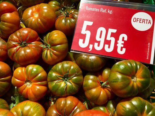 Raf de Hipercor a 5,95 euros el kilo