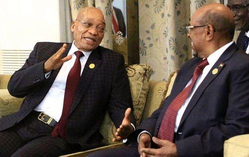 Jacob+Zuma+Omar+al-Bashir