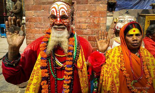 Sadhus, Nepal - Paco Nadal