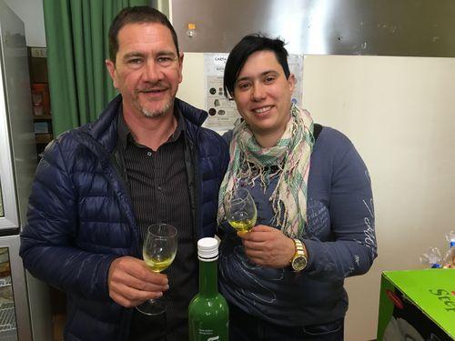 Teresa Blasco y Luis Calpe
