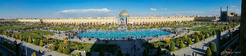 Plaza Isfahan - Paco Nadal
