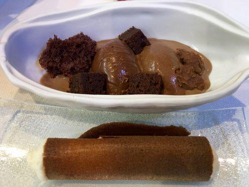 CHOCOLATE SEXY, VARIAS TEXTURAS DE GUSTO ESPLÉNDIO 6,50 EUROS POR PERSONA