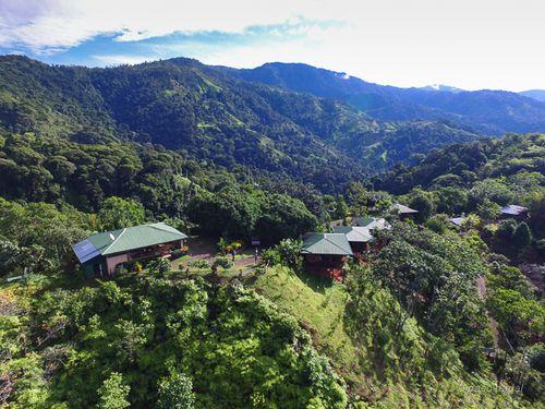 1. Vista aérea turismo rural Santa Juana