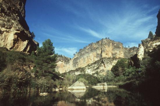 Barranco del Cinorrio junto al río Cabriel a su paso por las Hoces Gorka Lejarcegi