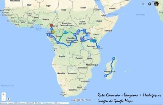 Mapa de ruta Alfonso - Autor