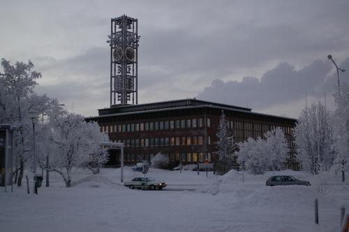 Kiruna_cityhall wikimedia commons Johan Arvelius