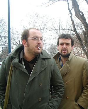 Borja Cobeaga y  yo