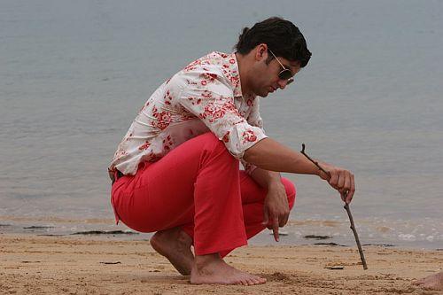 Morante en la playa